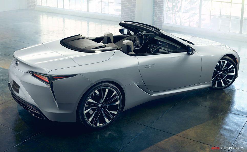 Lexus Reveals Lc Convertible Concept Autoconception Com Lexus Lc Lexus Convertible Lexus