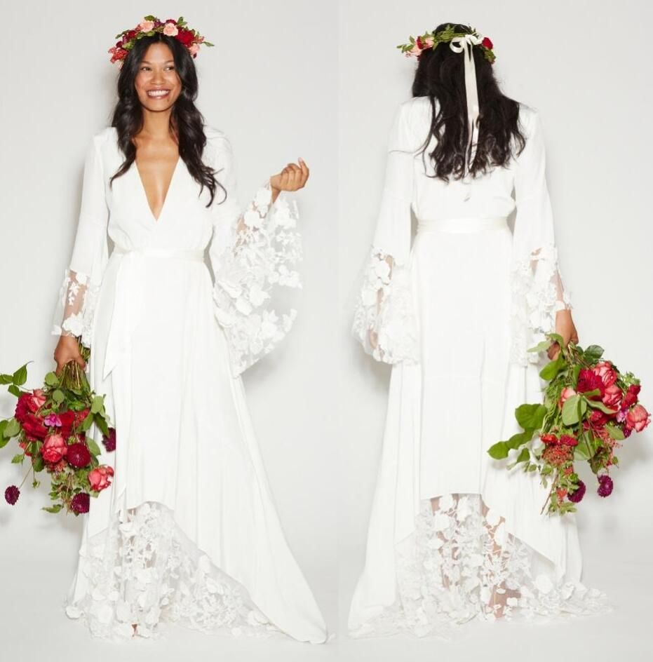 Lace hippie wedding dress  Myemaillisamonyoutlook Pleaserefertooursizechart