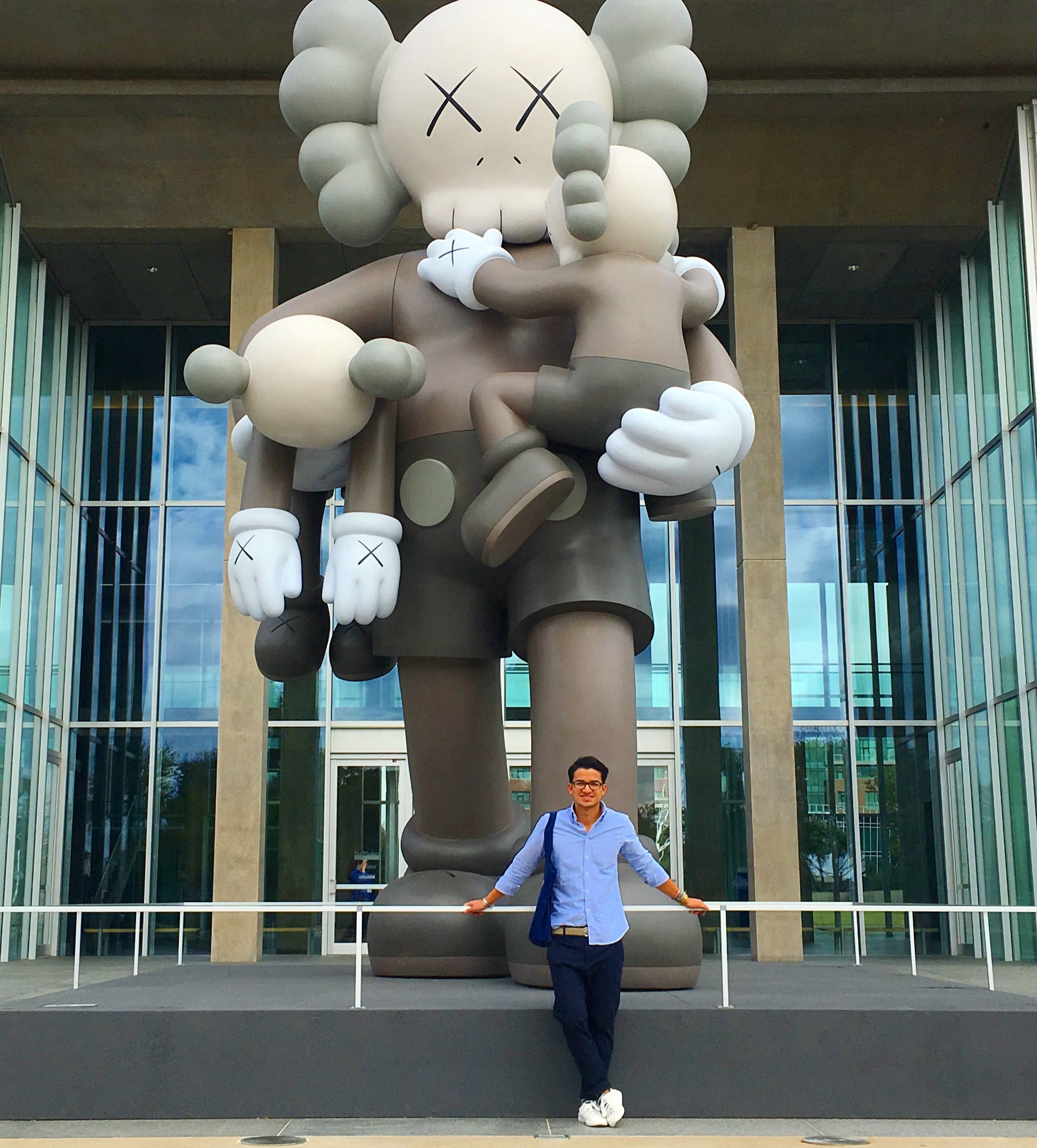 Kaws exhibition at The Modern in Fort Worth