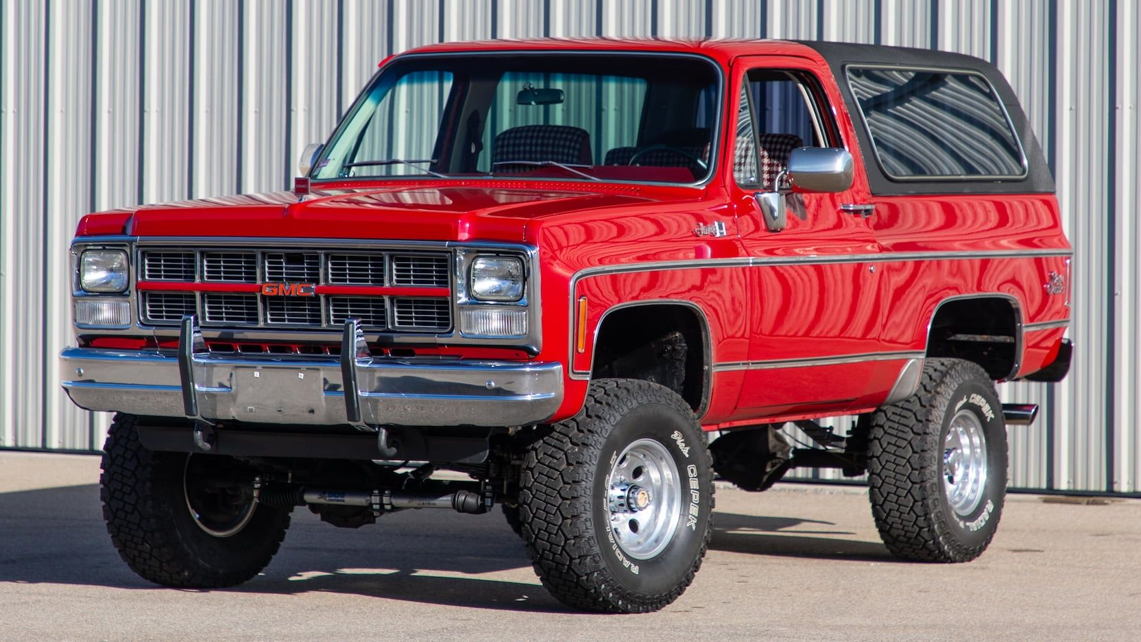 1980 Gmc Jimmy Sierra Grande Presented As Lot S113 At Indianapolis