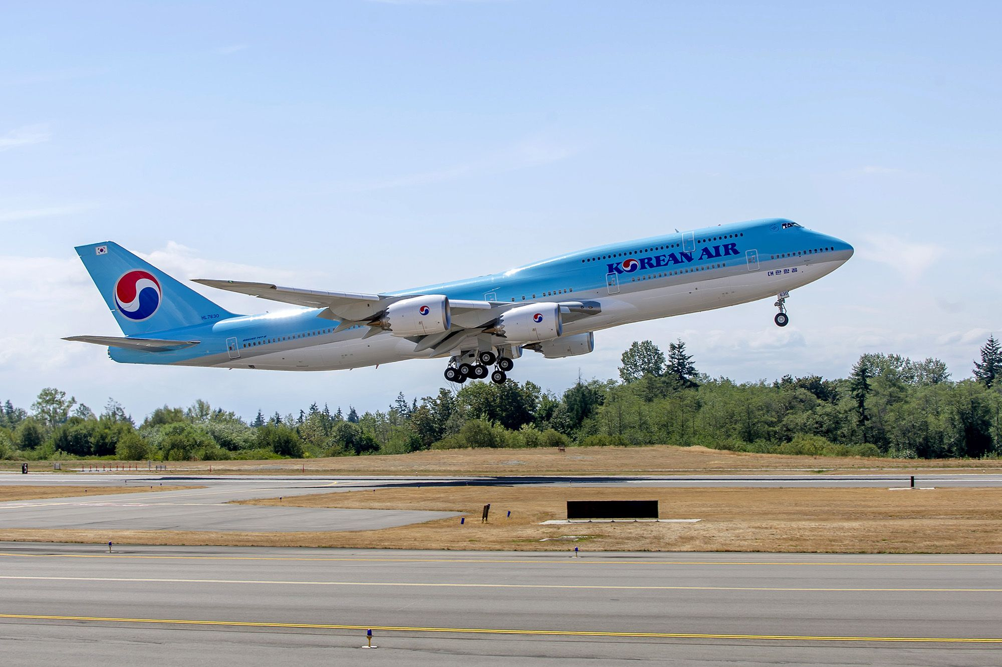 Korean air booking 18882028814 Korean air, Boeing 747