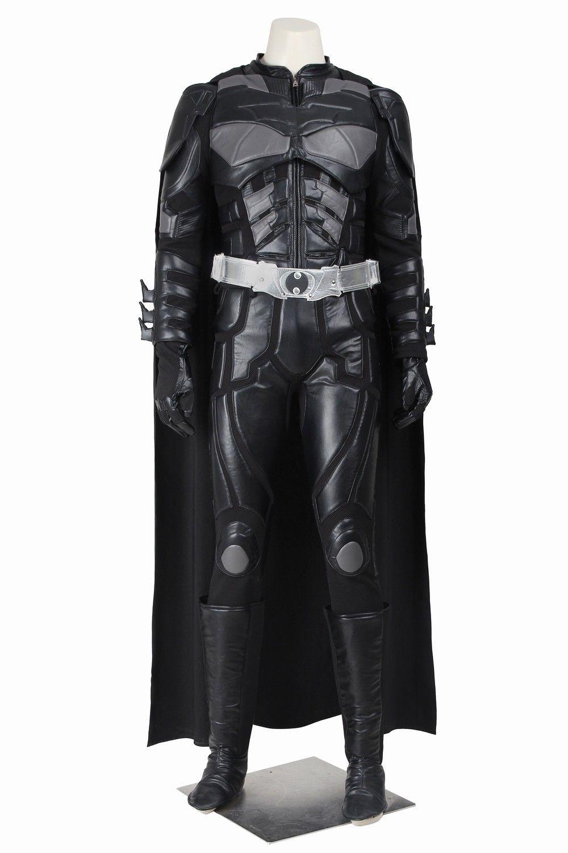 batman vs superman costume New 2016 Movie Batman Costume Batman The Dark  Knight Rises Bruce Wayne Cosplay Costume Adult Men's Halloween