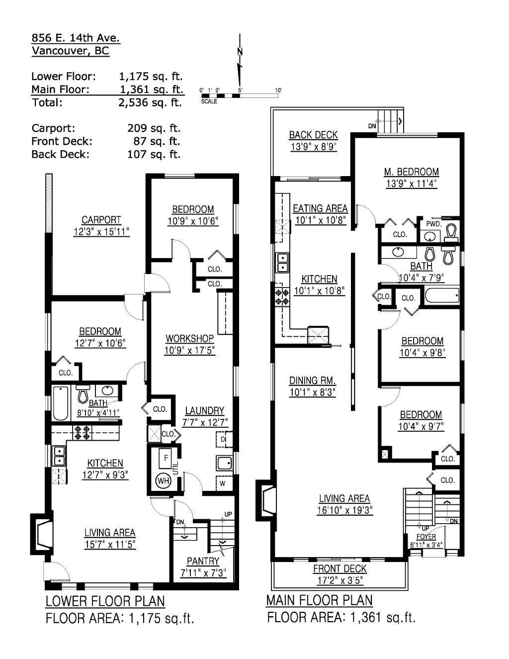 856 e 14th avenue vancouver special floor plans house for Vancouver house plans