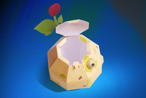 Embalagem planeta B612 - Petit Prince