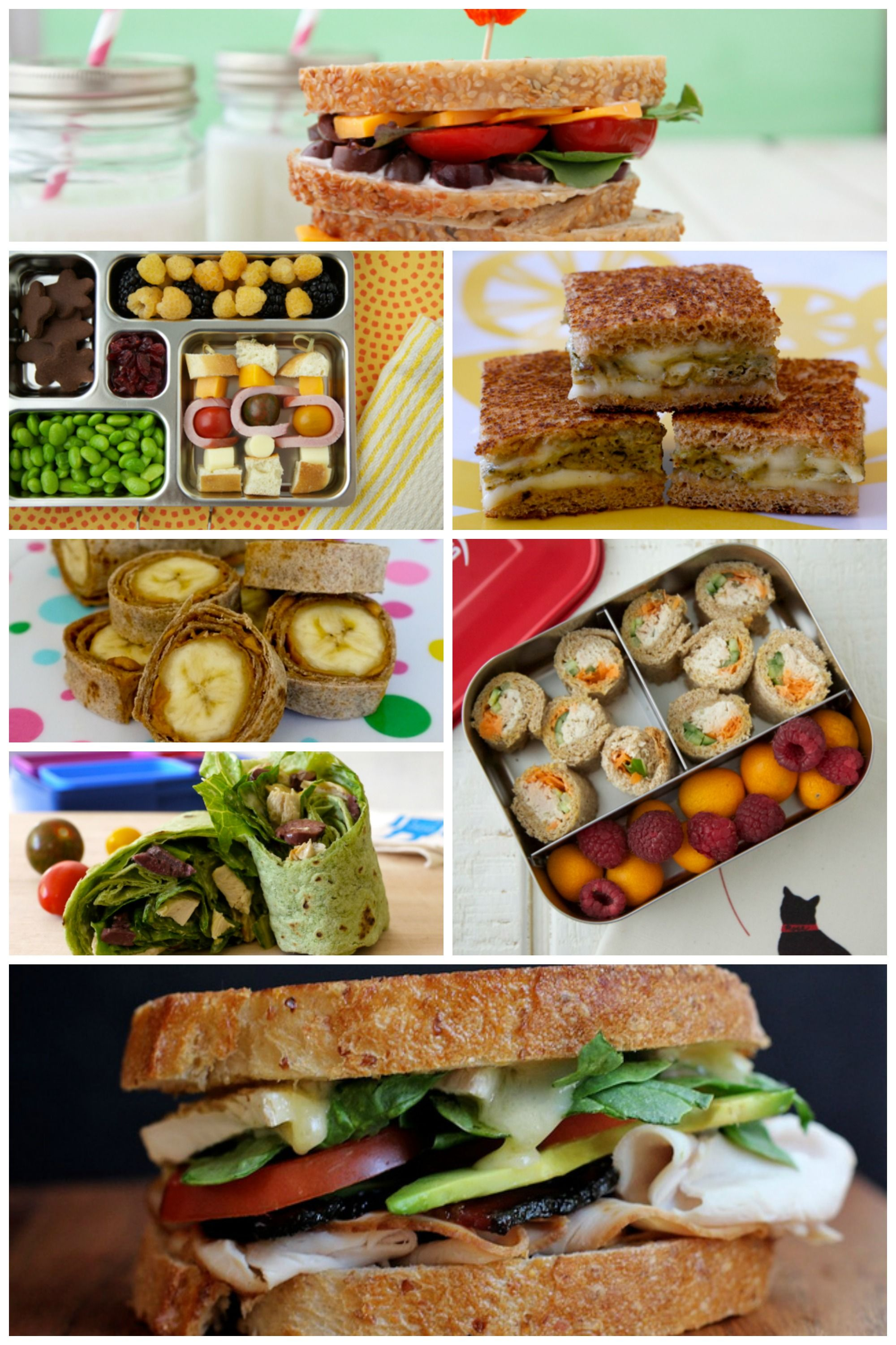 12 Creative School Lunch Sandwiches on Babble!