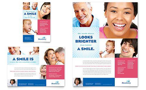Family Dentistry  Print Ad Template Design Sample  Design