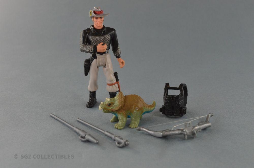 Jurassic Park Series 2 II T-Rex Turner Dino Tracker Complete w/ Gear  Kenner A1 #Kenner