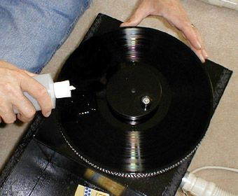 Diy Record Cleaner Record Cleaner Clean Vinyl Records Cleaners