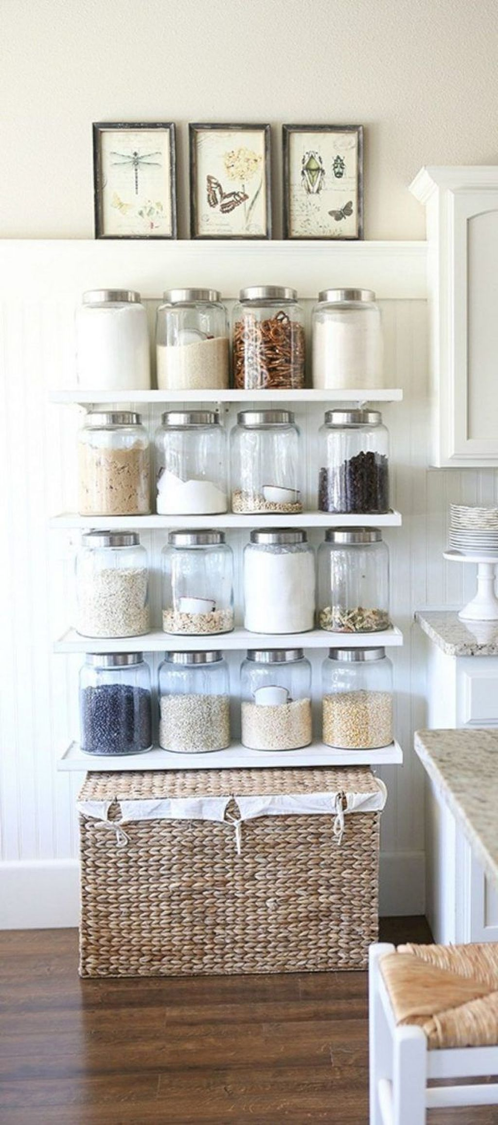 30 simple and easy kitchen storage organization ideas farmhouse kitchen decor farmhouse on kitchen decor organization id=72990