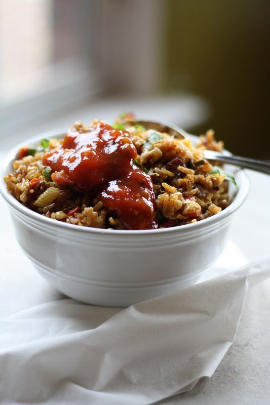Mexican Bacon Fried Rice - Drool-Worthy