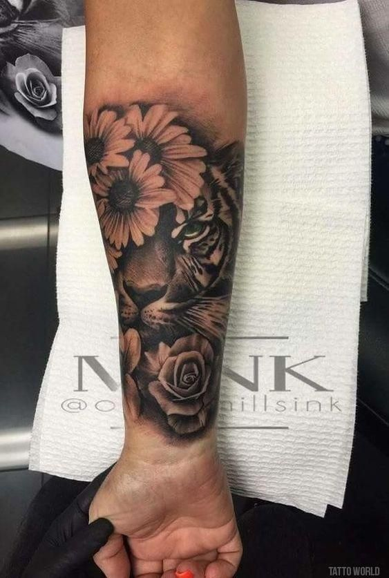 49 Amazing Sleeve Tattoos for Men & Women   Small Tattoo - Minimal Tattoo