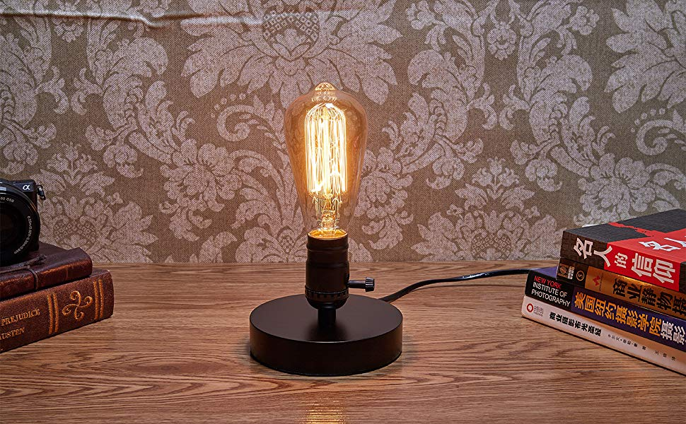Pin By Novelty Stylus On Geek House Vintage Table Lamp Table Lamp Base Therapy Lamp