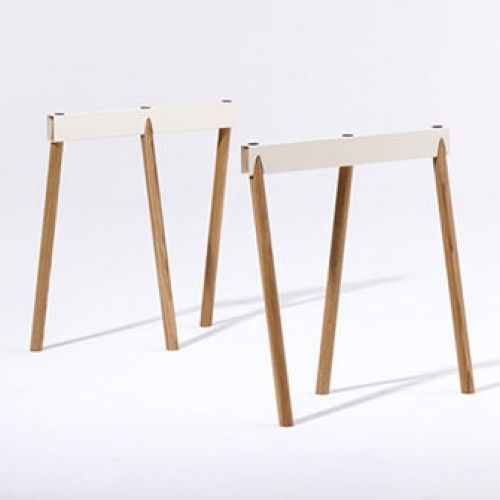 Crosscut Trestle Table
