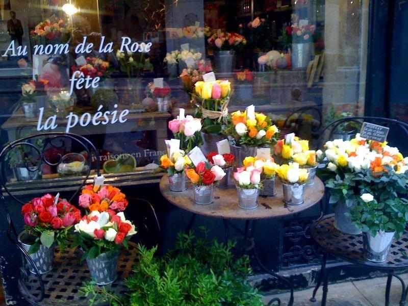 Backdrop Idea Parisian Flower Shop Amazing Flowers Flower