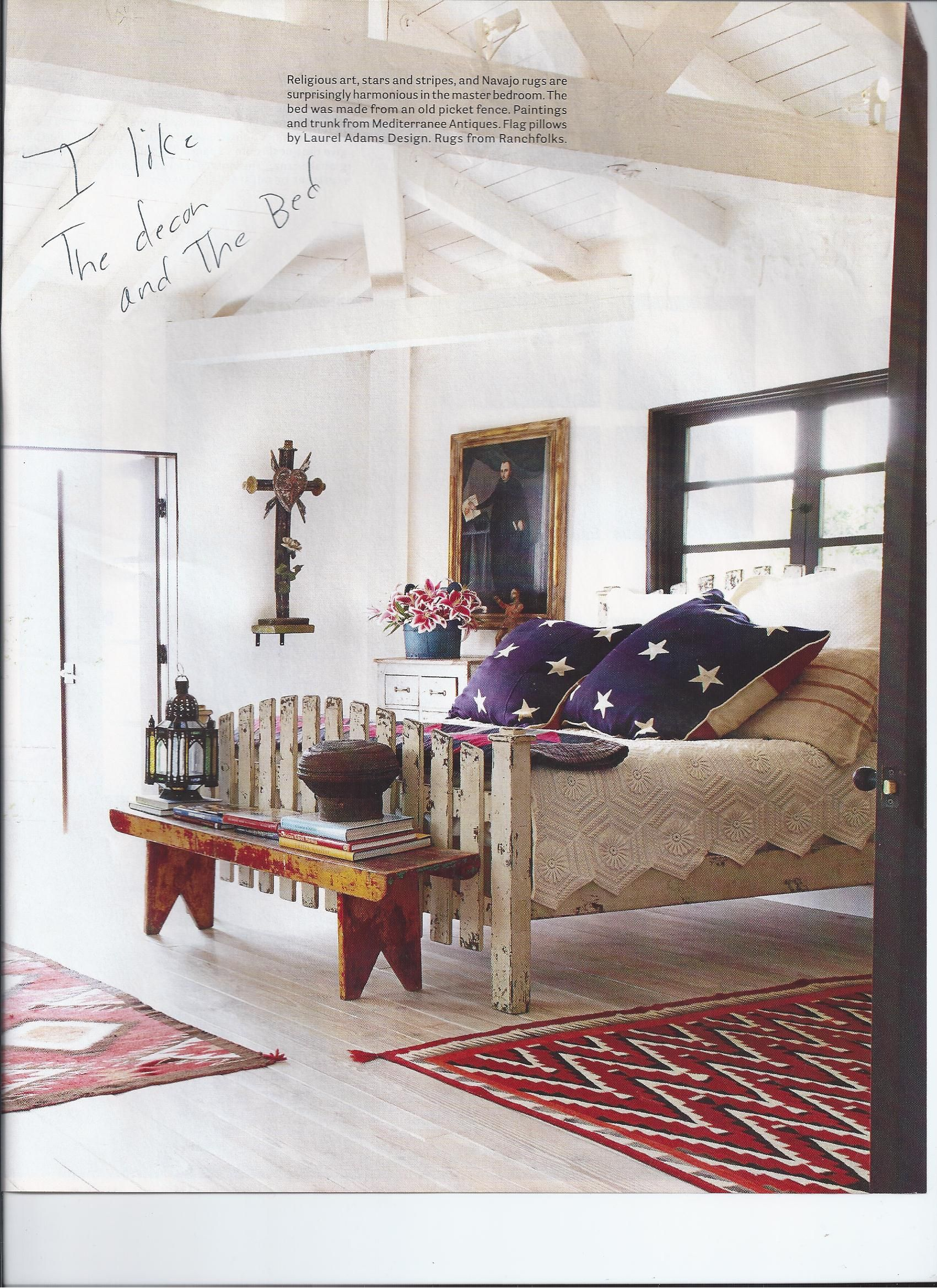 Indian style bedroom | Americana bedroom, Country house ...