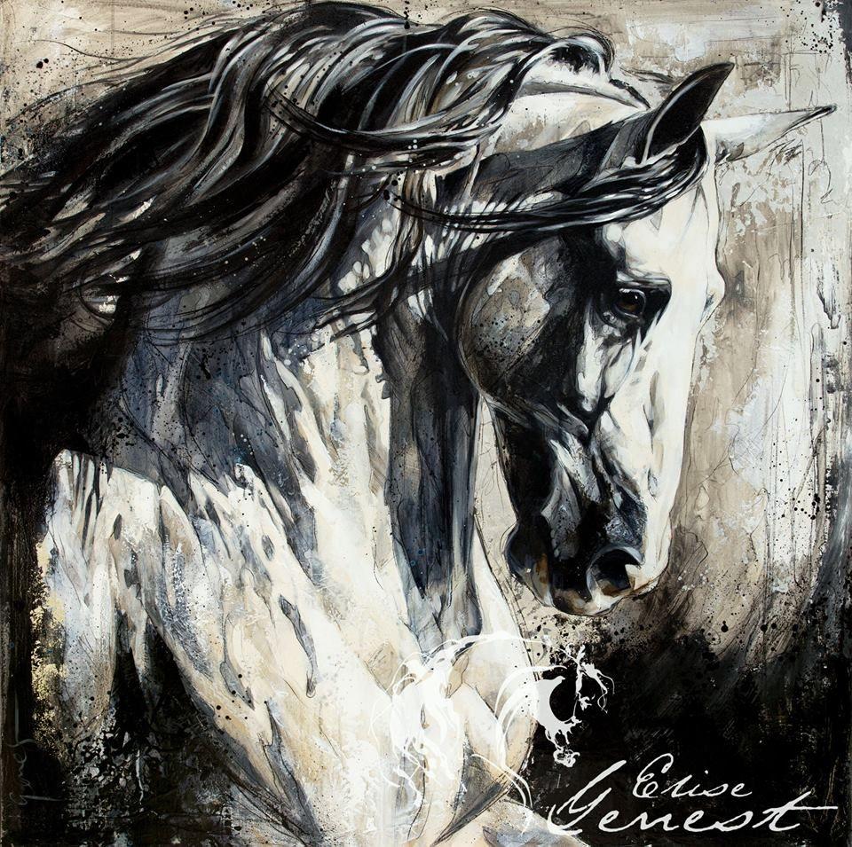 Elise Genest Arts & Chevaux