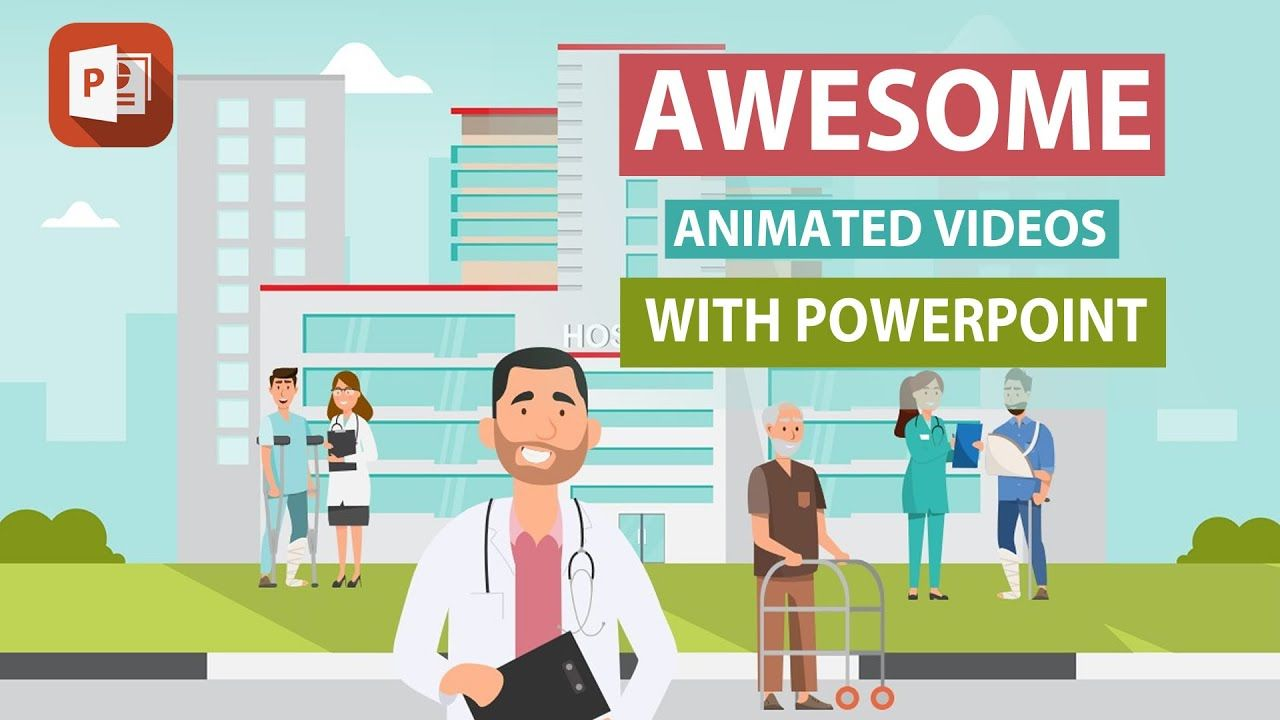 How To Create Animated Videos With Powerpoint Beginners Guide Youtube In 2021 Create Animation Create Animated Gif Animated Gif