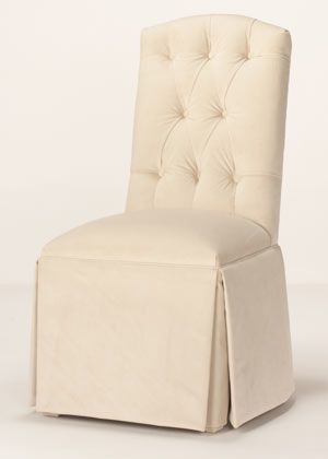 Tufted Parsons Chair