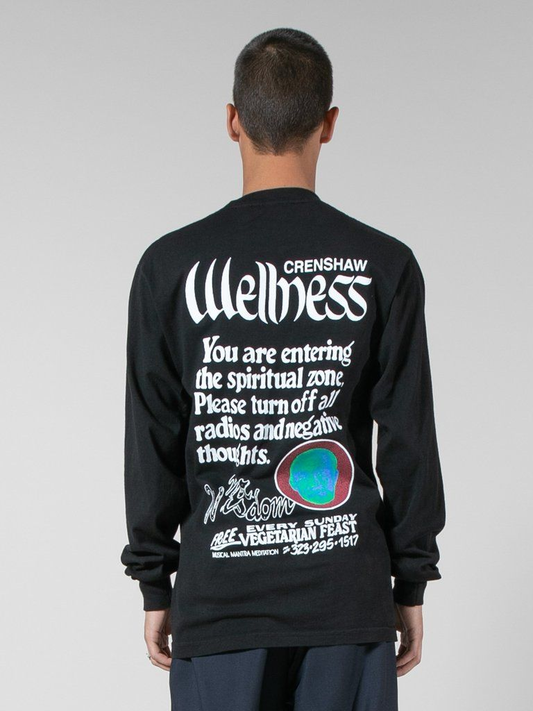 Buy Spa Crenshaw Wellness L S Tee Online At Union Los Angeles Tee Online Crenshaw Graphic Sweatshirt