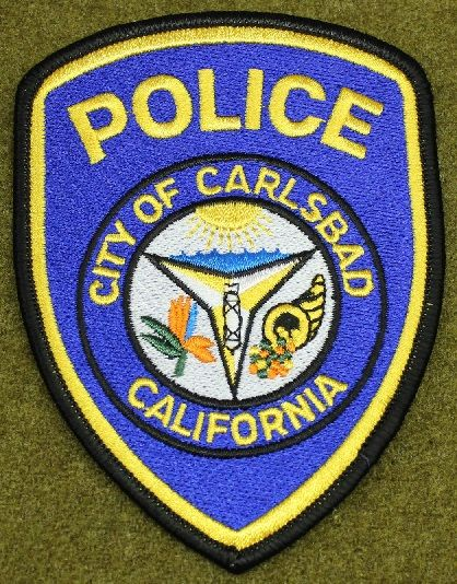 Carlsbad Pd Calif With Images Police Police Badge Police Patches