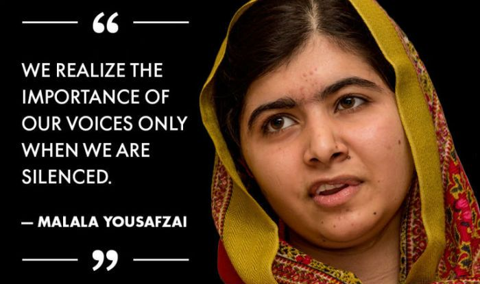 Malala Yousafzai Quotes Afbeeldingsresultaat Voor Malala Yousafzai Quote  Writer .
