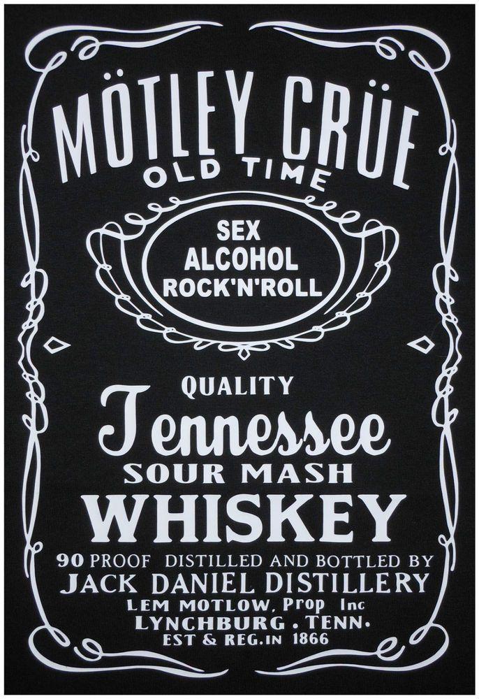 Jack Daniel Motley Crue. JackDaniels JackDaniel