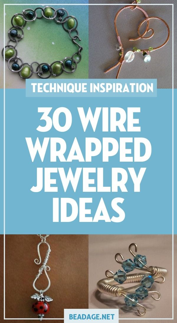 30 Wire Wrapped Jewelry Jewelry Making Ideas - Handcrafted beaded jewelry, Diy wrap bracelet, Diy jewelry making, Wire wrapped jewelry, Jewelry making, Jewelry projects - 30 Wire Wrapped Jewelry Jewelry Making Ideas