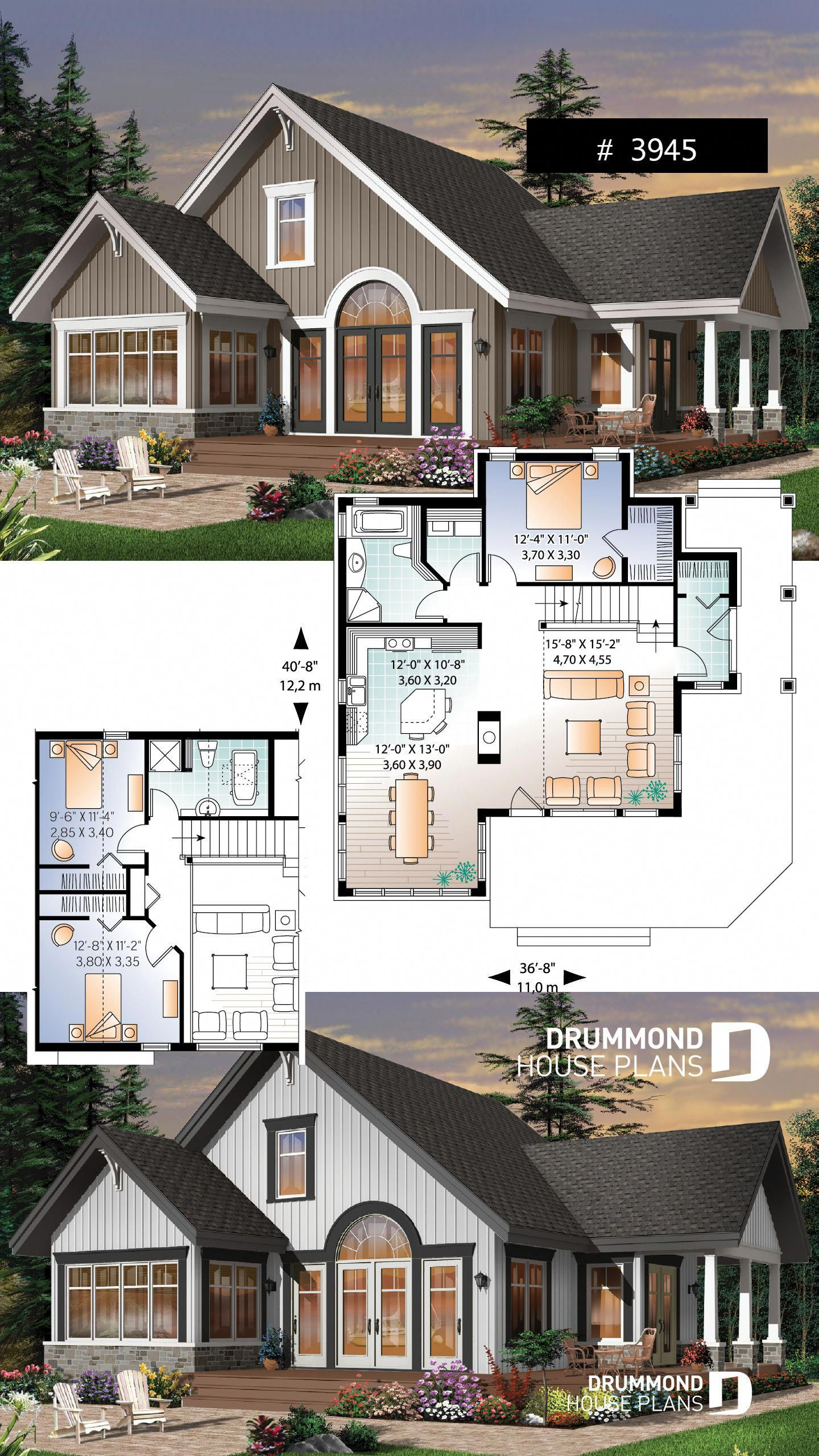 1st Level Foyer Living Room Kitchen Dinette Dining Room Bathroom Laundry Facilities And Bedroom 1 2nd Leve House Blueprints Sims House Plans House Plans