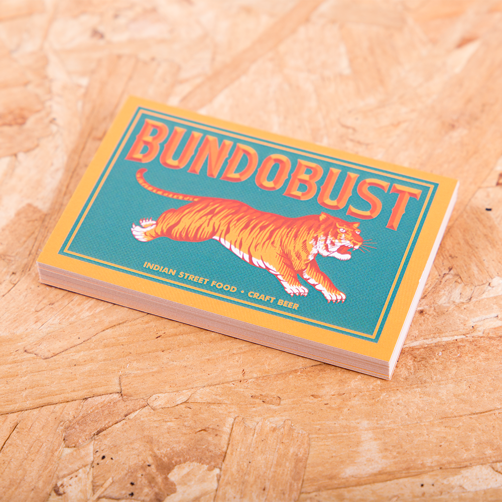 Business cards for leeds finest craft beer and street food emporium business cards for leeds finest craft beer and street food emporium bundobust reheart Image collections