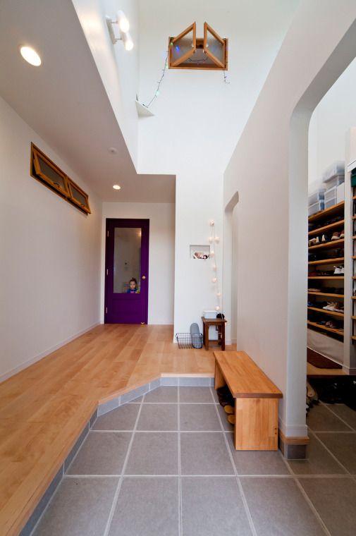 毎日の暮らしが楽しくなる家 玄関 玄関 リフォーム 小さな家の