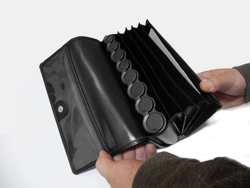 Barmanská a čašnícka peňaženka kožená s mincovníkom  74803247df1