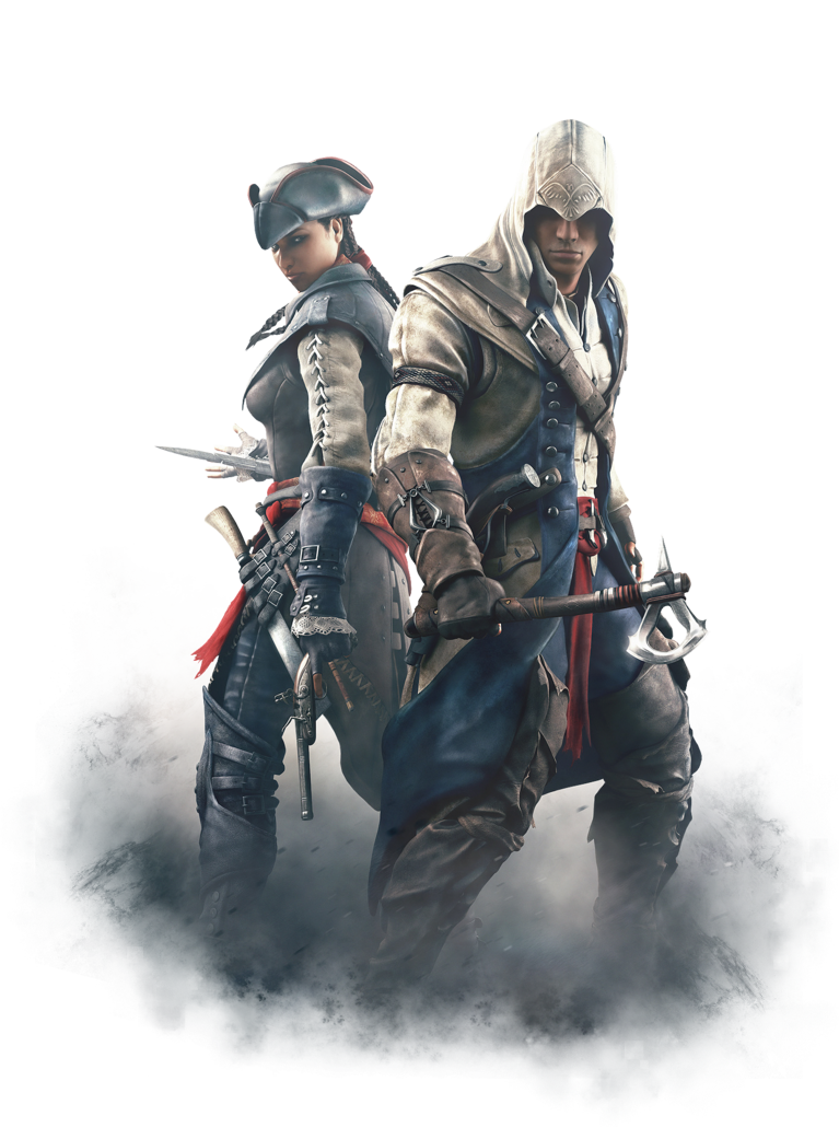 Assassin's Creed - Aveline and Connor by IvanCEs on DeviantArt
