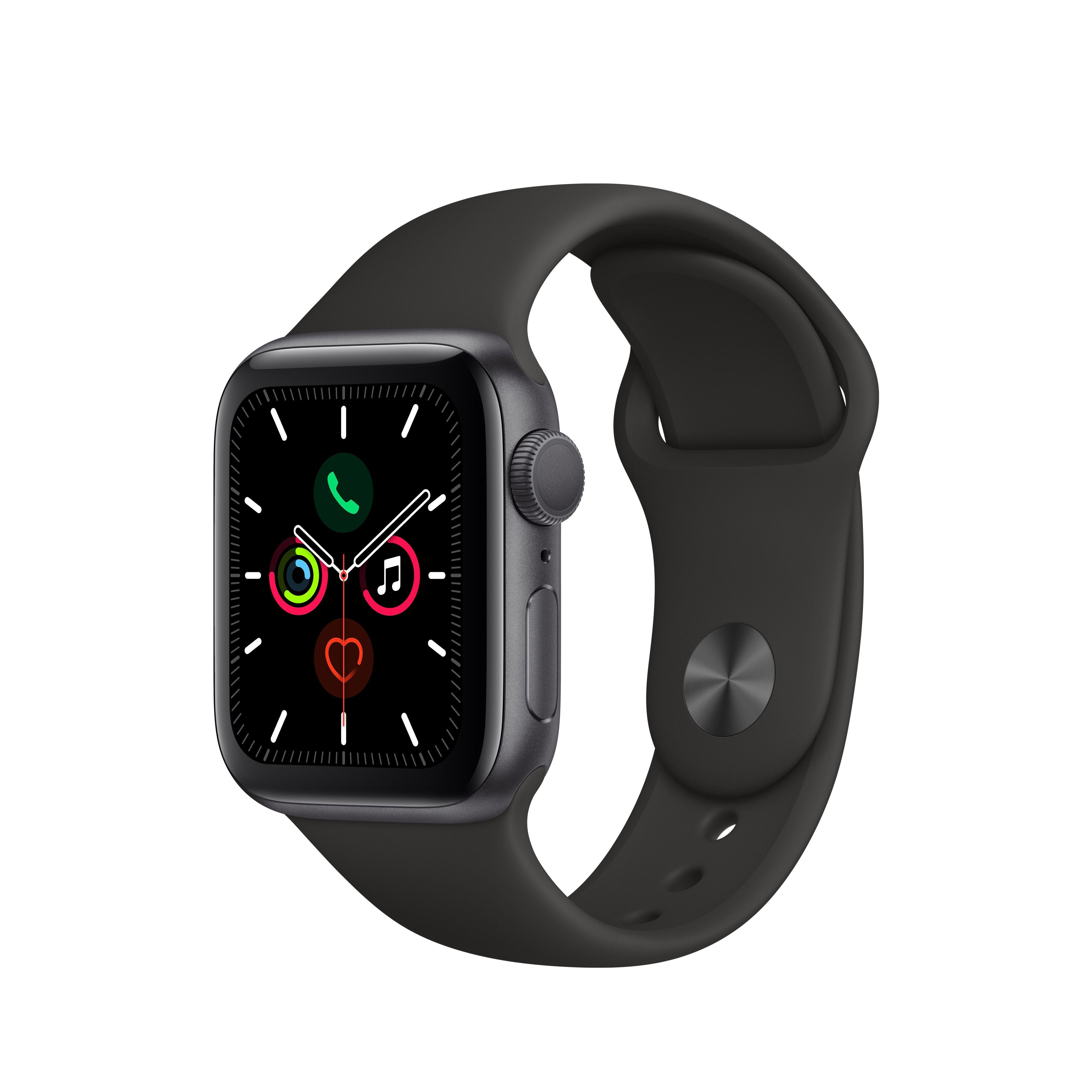 Apple Watch Series 5 GPS, 40mm Space Gray Aluminum Case