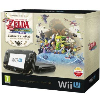 3f179300772 Nintendo Wii U 32GB The Legend of Zelda: Wind Waker HD Premium Pack ...
