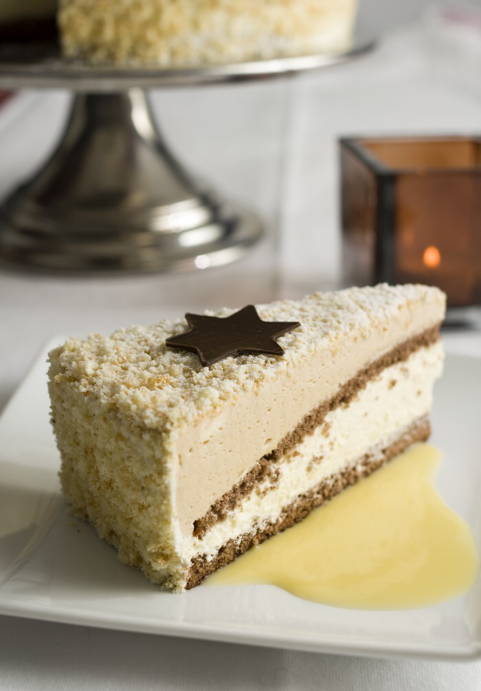 Photo of Wintry egg liqueur cake from the world champion confectioner Manfred Bacher – cake recipes with egg liqueur