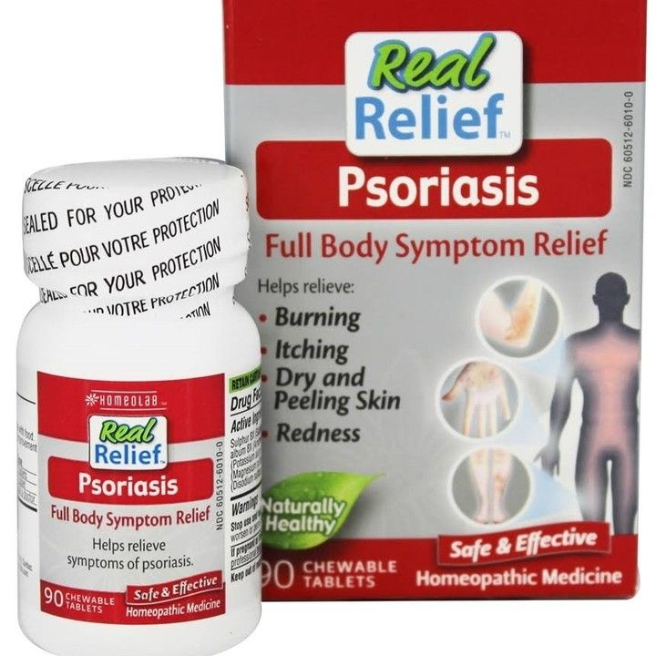 REAL RELIEF PSORIASIS 90 CHEWABLE TABLETS For $10.99 From
