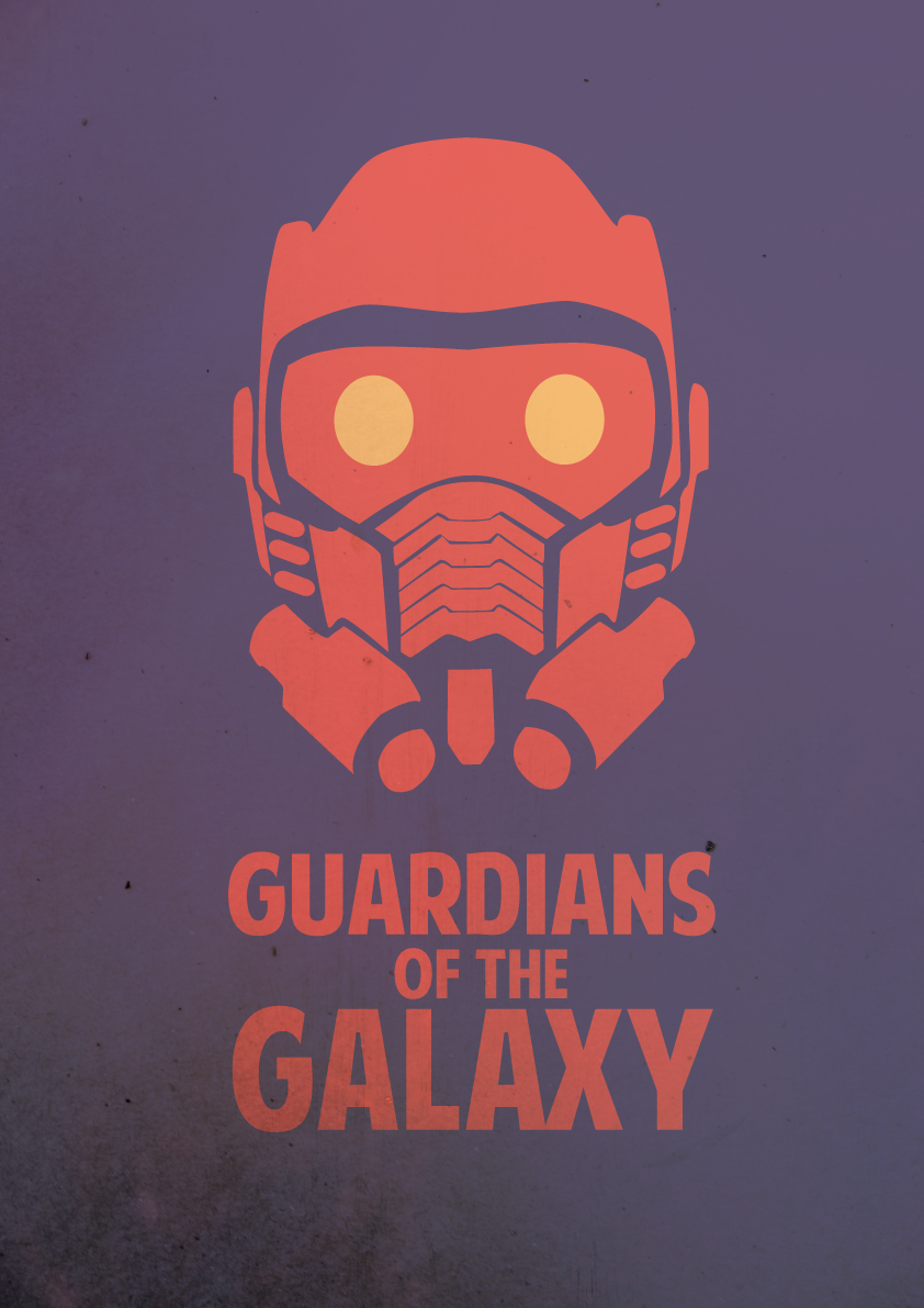 bb085f5a7 Guardians of the Galaxy - Minimalist Poster by  thefoodispeople.deviantart.com on @DeviantArt
