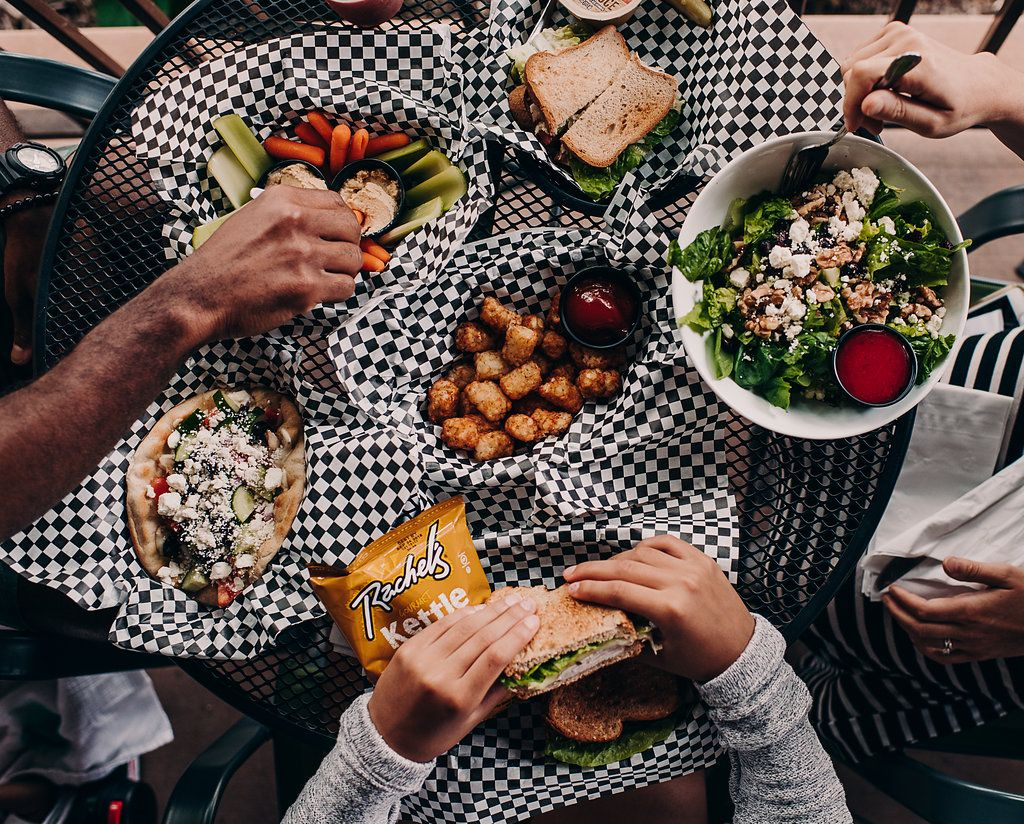 Sandwiches, salads and sides at Jo Jo's Rise & Wine, a