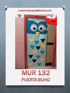 Creaciones mayola puertas decoradas puertas de aula for Decoracion de puertas escolares