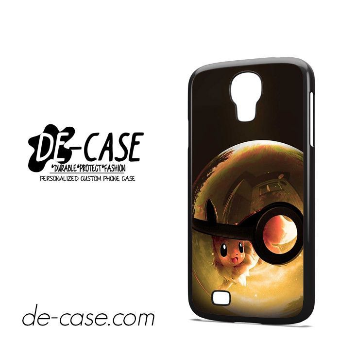 Eevee In Pokeball DEAL-3834 Samsung Phonecase Cover For Samsung Galaxy S4 / S4 Mini