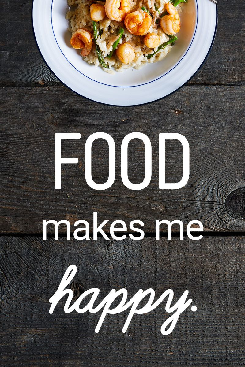 Especially when its delicious food healthy eating