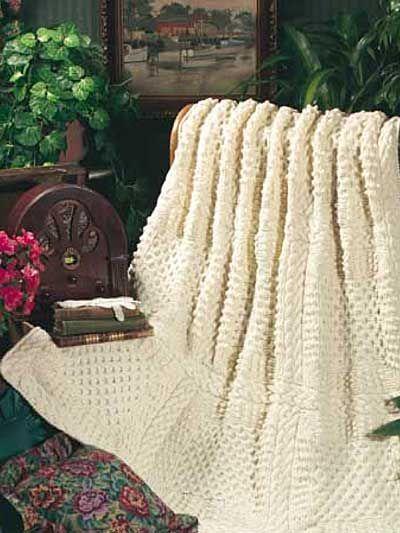 Top 10 Free Afghan & Throw Knitting Downloads