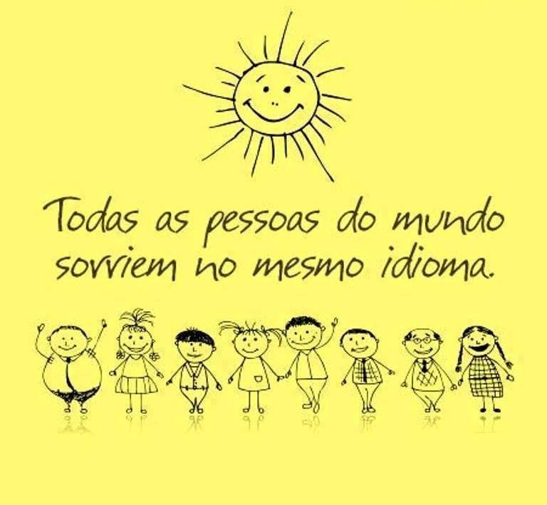 Il sorriso è un linguaggio universale..