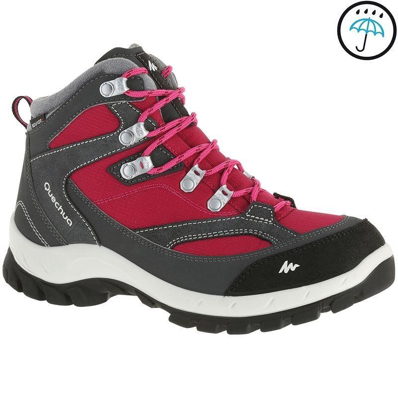 a8594f2e41 Deportes de Montaña Deportes de Montaña - Botas de montaña Forclaz 100 impermeables  mujer QUECHUA - Deportes de Montaña