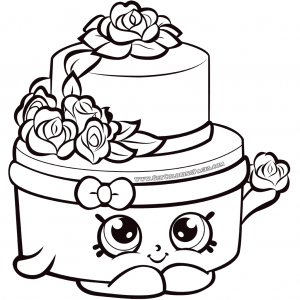Shopkins Season 7 Wedding Cake Shopkin Coloring Pages Shopkins Colouring Pages Shopkins Colouring Book