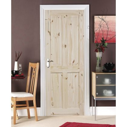 London Knotty Pine 4 Panel Internal Door 762mm Wide At Homebase Be Inspired And Make Your House A Internal Doors Pine Internal Doors Glass Doors Interior