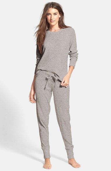e3d363f684 Free shipping and returns on PJ Salvage Brushed Thermal Pajamas at  Nordstrom.com. Brushed thermal knit makes supersoft and cozy pajamas that  pair a loose