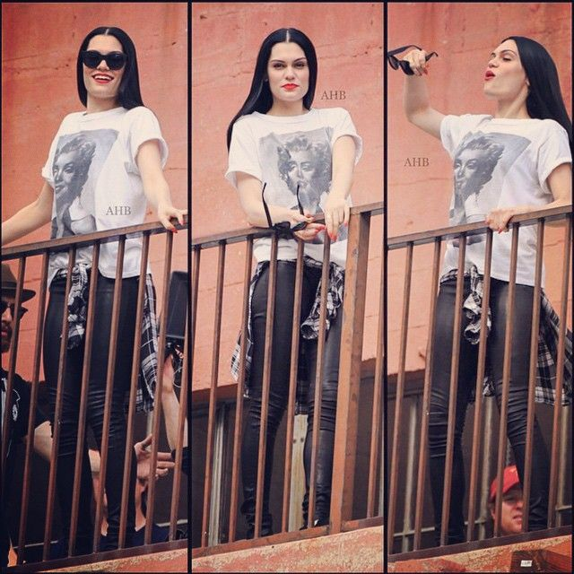 Jessie j in masterpiece,i love this look this shirt is so fashion!