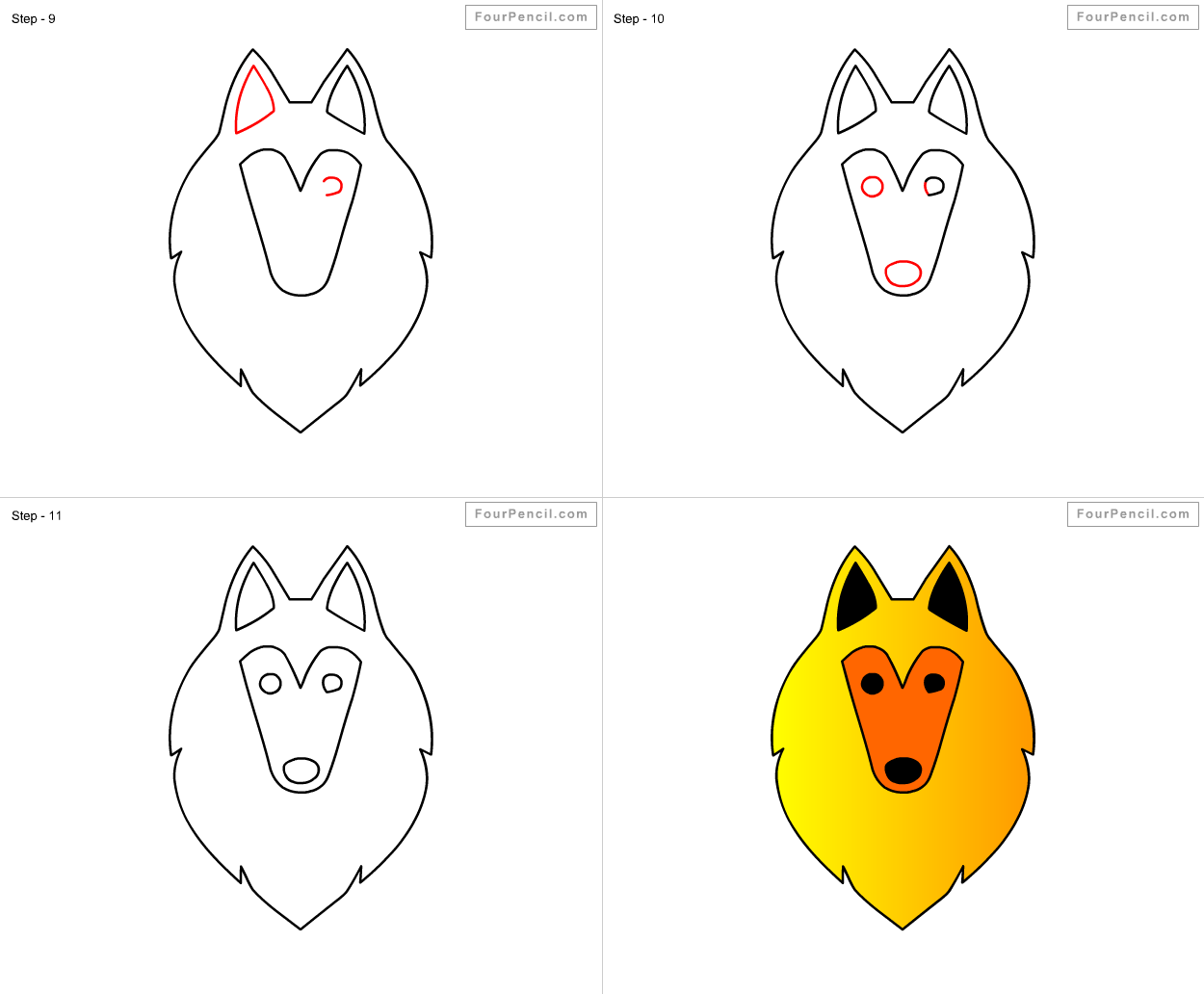 How To Draw Sheepdog For Kids Step By Step Drawing Tutorial Draw