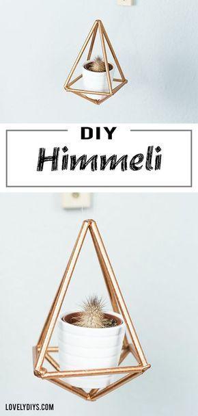 DIY Himmeli basteln - schöne, geometrische DIY Deko Idee